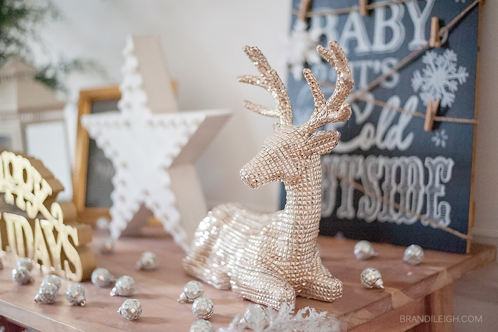 winter wonderland decor diy christmas decor big lots brandi leigh raleigh wedding - Big Lots Christmas Decorations